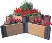Садовые ограждения для клумб,  детские песочницы