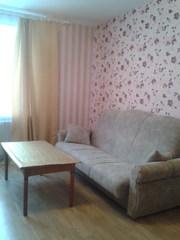 Сдам 1-комнтную квартиру на сутки, короткий срок в центре Жодино Тел .8