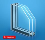 Замена обычных стекол на стеклопакеты однокамерные и двухкамерные