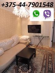 Квартира на сутки,  часы в Жлобине. мк-н 18,  д.7 (двухкомнатная)