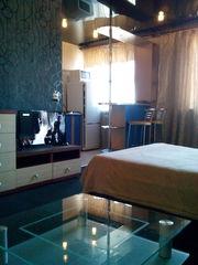 Квартира-студия на сутки, часы с евроремонтом