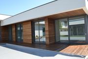 Термообработанная сосна для фасадов домов