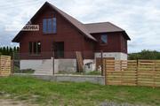 Коробка жилого дома из экологически чистого материала. r161525