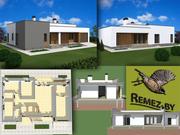 Индивидуальное проектирование загородных домов и коттеджей