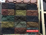 Блоки Демлер декоративные цветные и серые для фундамента