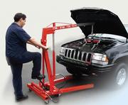 Подъёмник двигателя в аренду (гаражный кран).