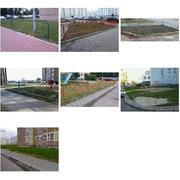 Ограждения,  заборы для палисадников и тротуаров